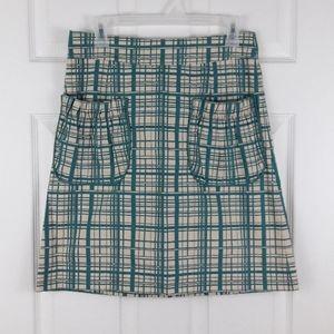 Anthropologie's Girls from Savoy Skirt Size 4
